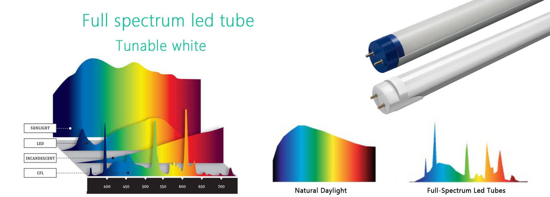 full-spectrum led tube CRI>97