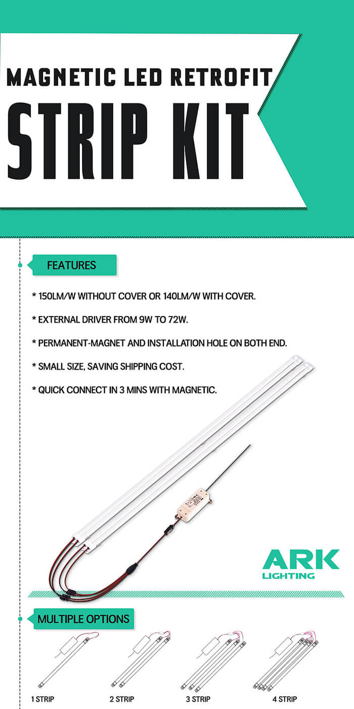 fluorescent to led retrofit kits | ARK Lighting