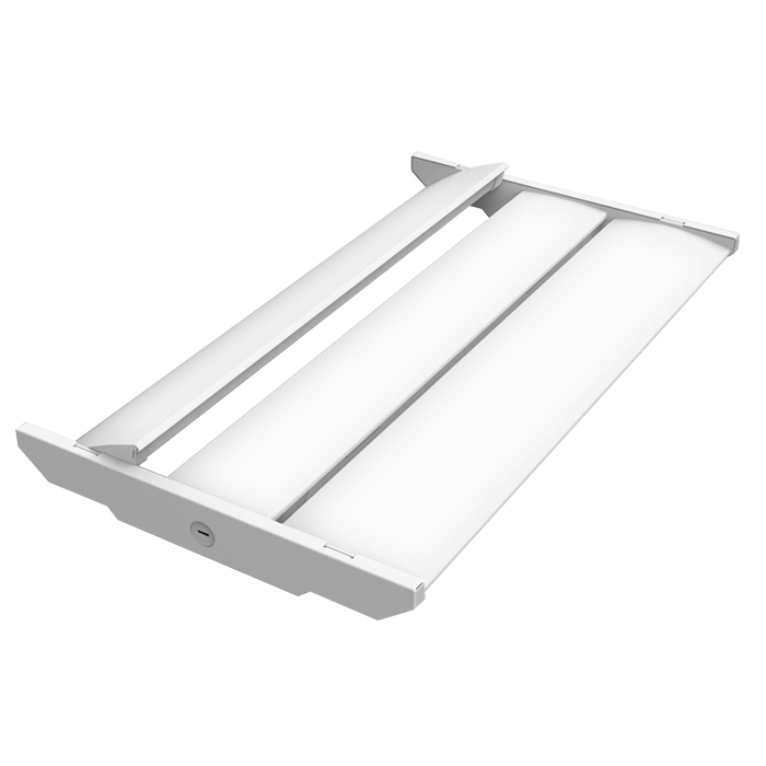 Motion sensor linear high bay lights