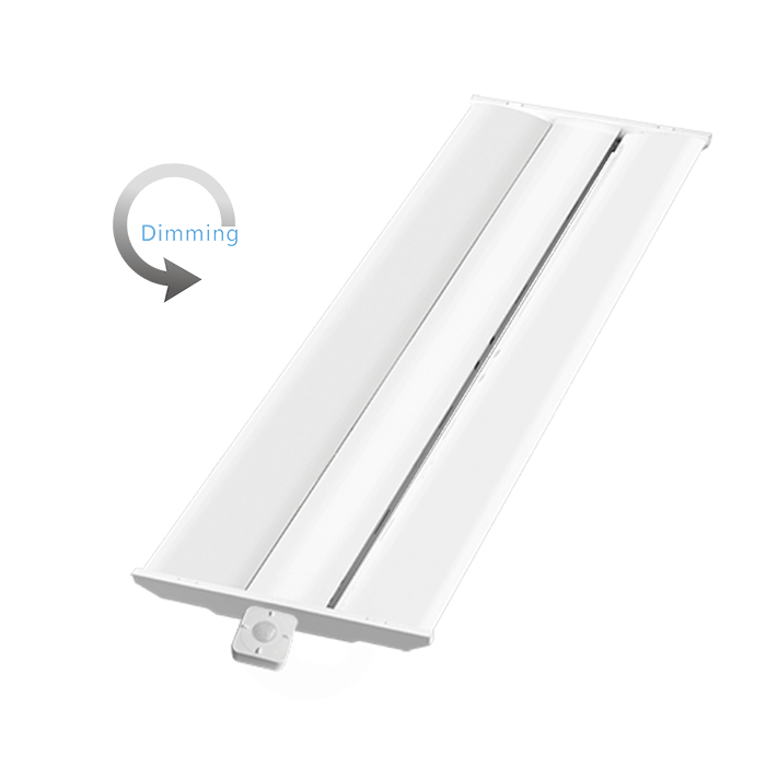 Bluetooth linear high bay with motion & daylight sensor