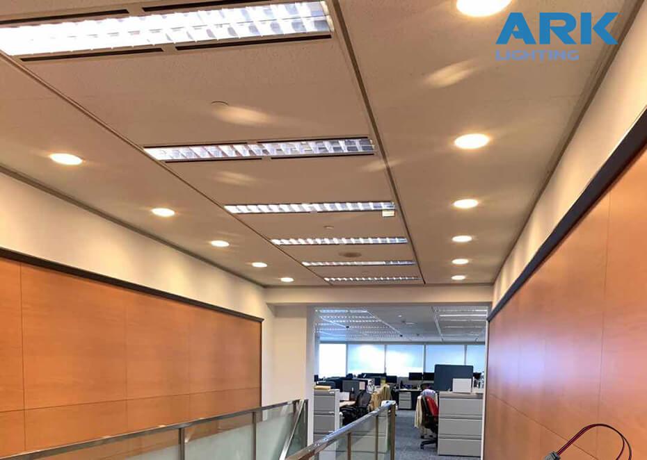 AL+PC Led Tube HK Citibank case